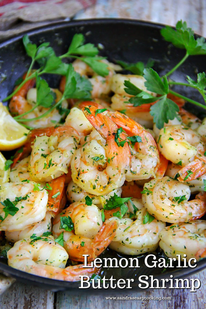 Lemon Garlic Butter Shrimp Recipe